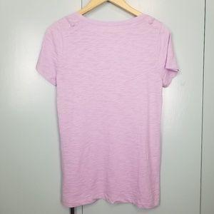 J. Crew Tops - J.Crew light purple tshirt size M  -Y2